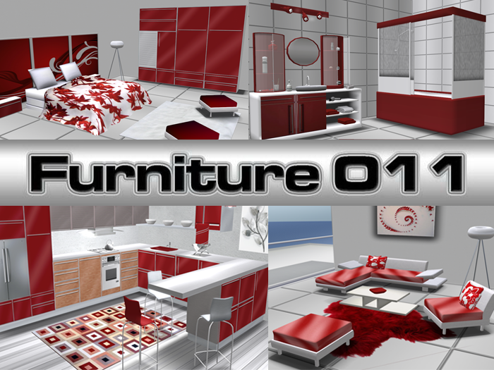 Complete Furniture for the whole house NEW RED LINE