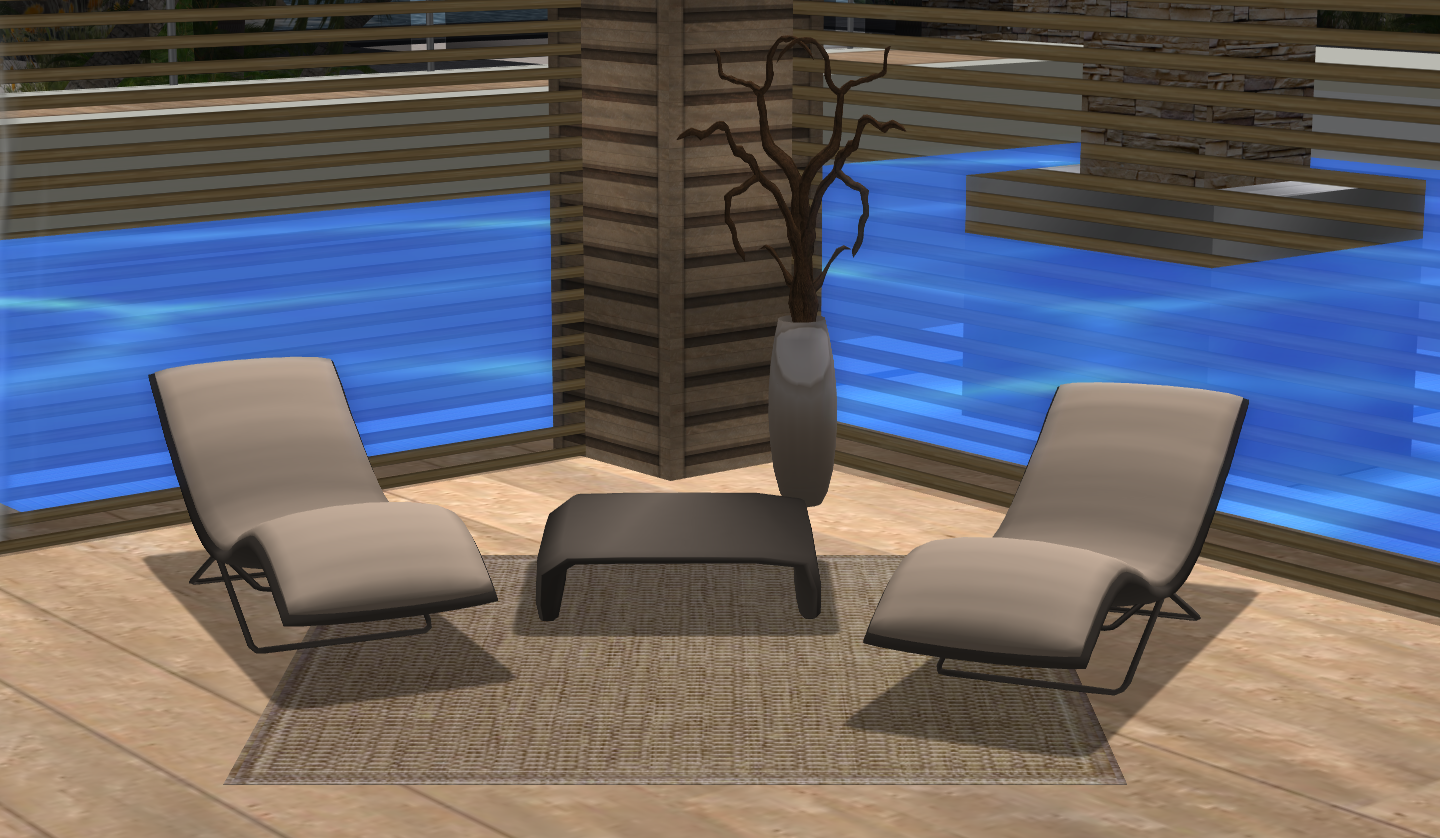 Deck chairs – Loungers