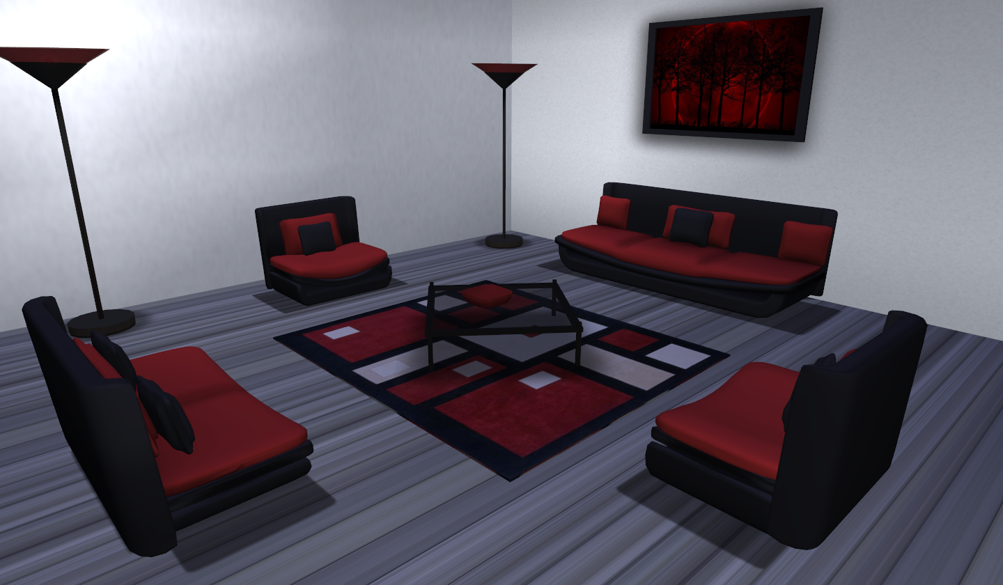 Living Room Alfa With Sex Animations
