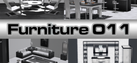 Complete Furniture for the Whole House  Black White Line