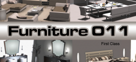 Complete furniture for the whole house Elite Line – 1296 animations