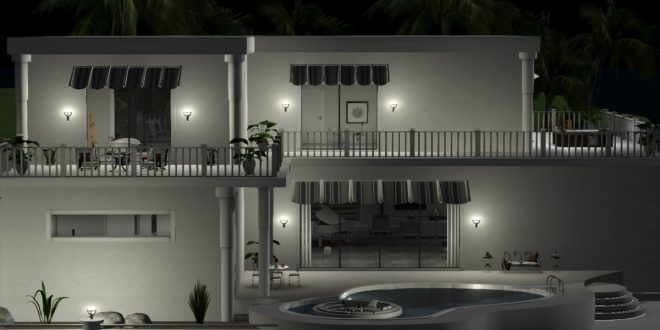 Full Furnished House Eden (1750  animations)
