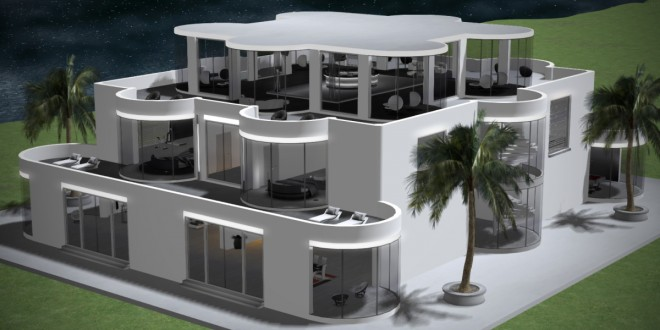 Full Furnished house Triton Exclusive – Luxury villa – 2055 animations