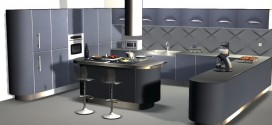 Kitchen Blue Sapphire (210 animations)