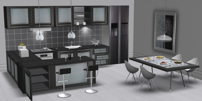 Sex Kitchen and dining room Nirvana (310 animations)
