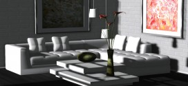 Living room Caprice (145 animations)