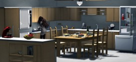 Kitchen and dining room Anastasia – 195 animations
