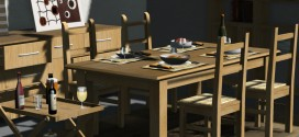 Dining room Anastasia – 155 animations