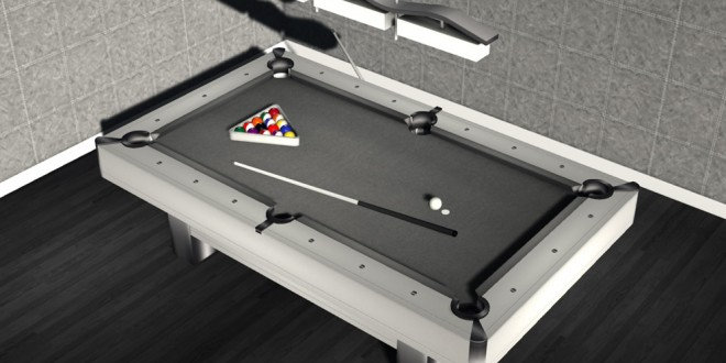 Pool table Madera – 155 animations [mesh]