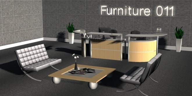 Reception Lobby Astoria – 32 animations [mesh]