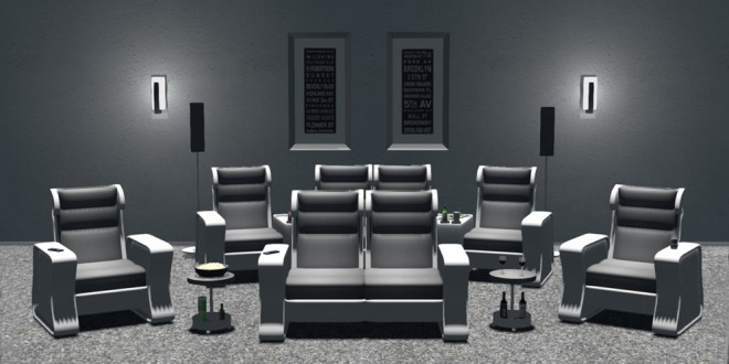 Home Theater Belmondo [mesh]