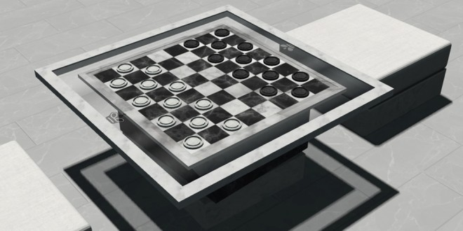 Checkers Set – playable
