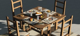 Breakfast set Maxx [mesh]