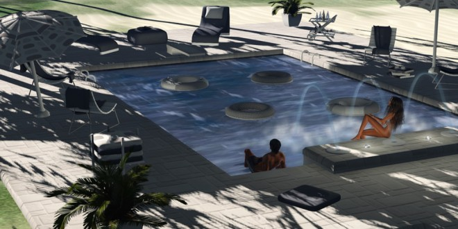 Swimming Pool Esther – 185 animations [mesh]
