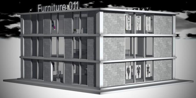 Modular Store Empire [mesh]