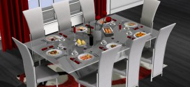 Dining set Largo [mesh]