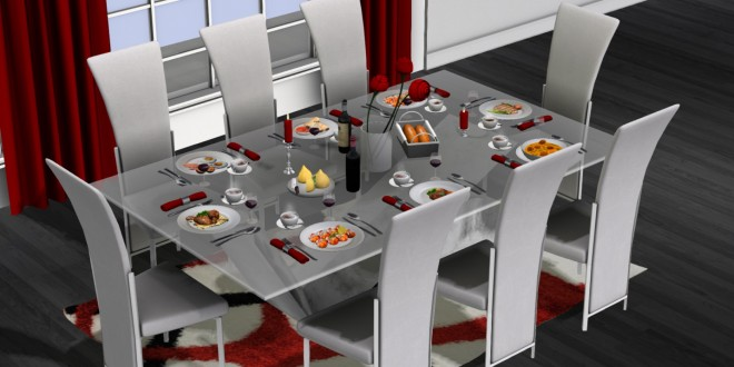 Dining set Largo [mesh]