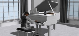 Grand White Piano Rhapsody – PG – 60 animations