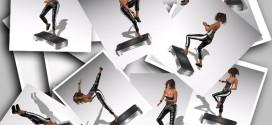 Aerobic step Turnup