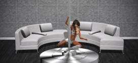 Dance pole with sex sofa Corona Extra