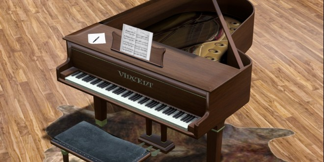 Grand Piano Vincent [Adult]