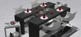 Dining set Gloria [Adult]