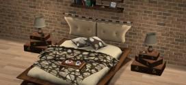 Bedroom set Bohemia – 168 animations
