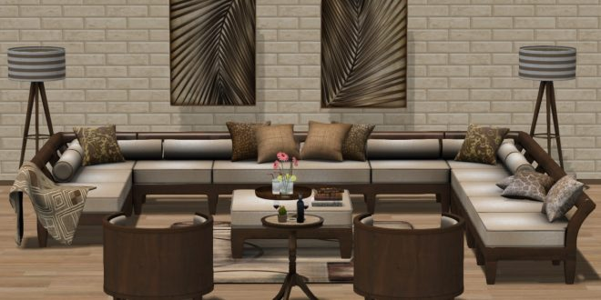 Living room – Patio Sigma – 128 animations – PG