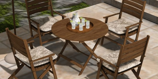 Outdoor, patio table set Alora