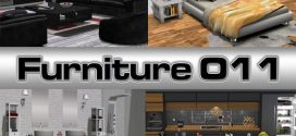 Complete Furniture for the whole house Cozy Line – Living room, Bedroom, Kitchen, Bathroom – 580 animations