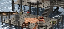 Dock & pier Solana – 332 animations (Adult)