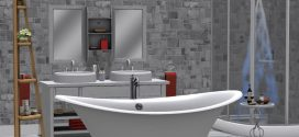 Bathroom Hera – 167 animations, 2 long scenes – bathtub, shower, double sink, bidet, toilet