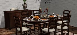 Classic dining room set Vienna – Dining table for 2, 4 or 6
