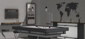 Billiards room Renton – 204 animations – pool table, bar