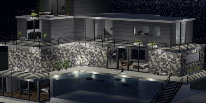 Full Furnished House Discordia – 2320 animations