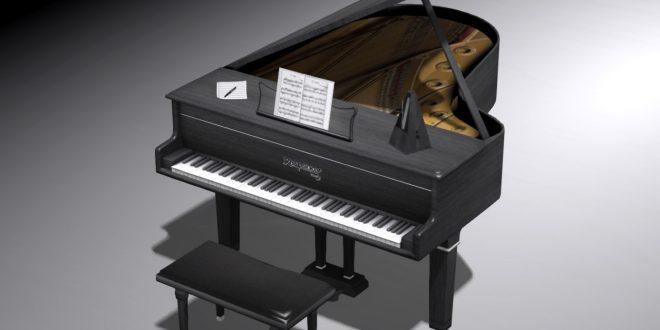 Black Grand Piano Rhapsody
