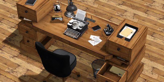 Vintage Desk Context