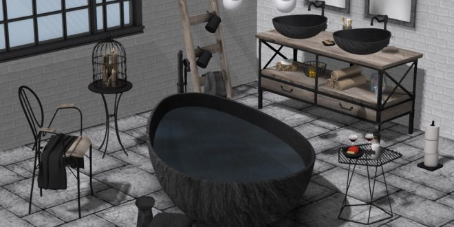 Bathroom Darma – 134 animations, 2 scenes