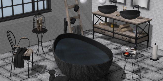 Bathroom Darma – 134 animations, 2 scenes