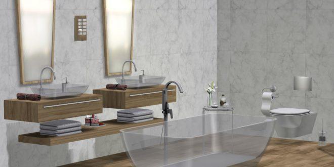Bathroom Glass Point
