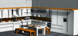 Kitchen & dining room Imperial – 188 animations