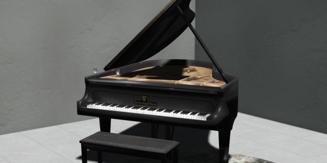 Black Piano for couple Requiem – 80 animations