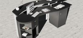 Reception desk Empire