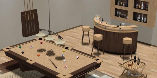 Billiards – Bar room Hazard – 148 animations