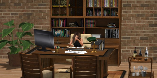 Office Omega – Adult – 118 animation, 36 props