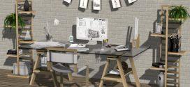 Office desk set Delta