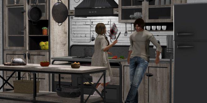 Vintage Kitchen Memories – 64 animations. 70 props – PG