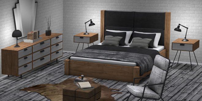 Bedroom Regina – 200 animations