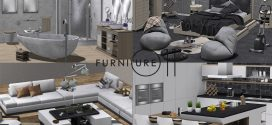 Complete Furniture for the whole house Vivid line – Living room, Kitchen, Bathroom, Bedroom – 1060 animations